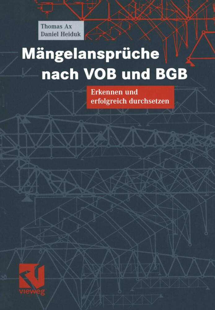 Mängelansprüche nach VOB und BGB als Buch (kartoniert)