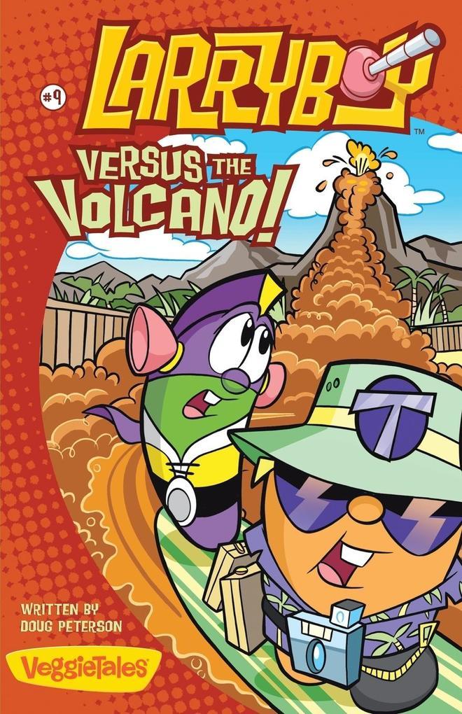 Larryboy, Versus the Volcano als Taschenbuch