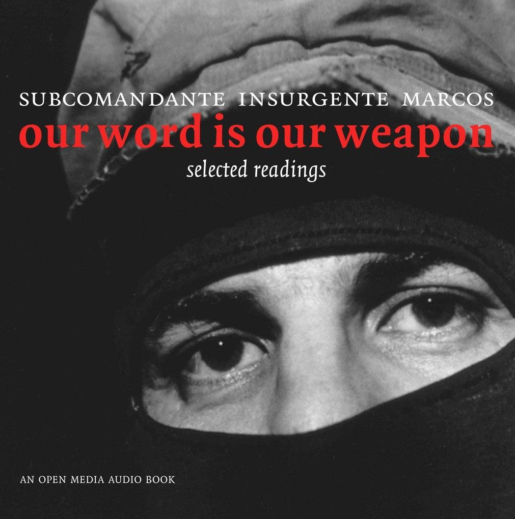 Our Word Is Our Weapon als Hörbuch CD