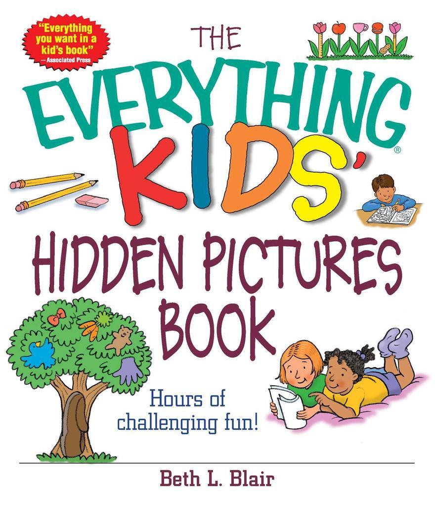 The Everything Kids' Hidden Pictures Book als Taschenbuch
