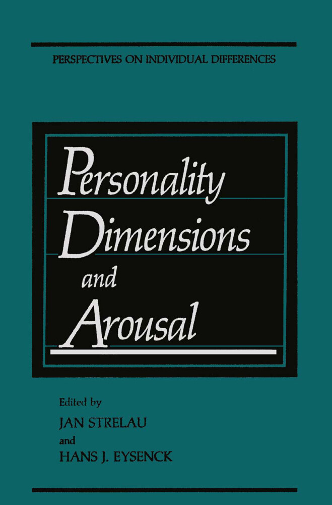 Personality Dimensions and Arousal als Buch (gebunden)