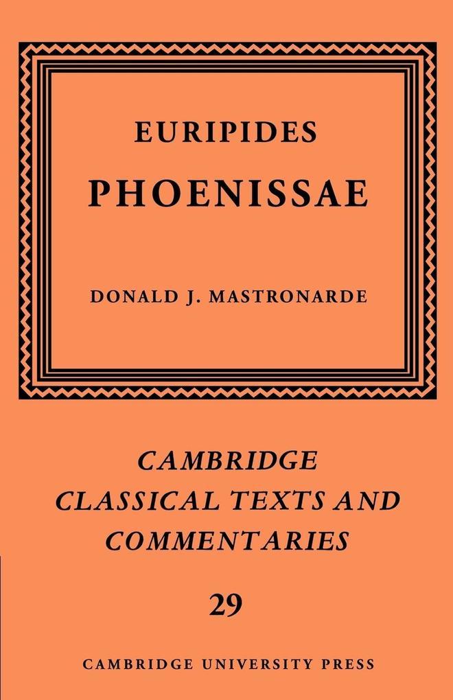 Euripides als Buch (kartoniert)