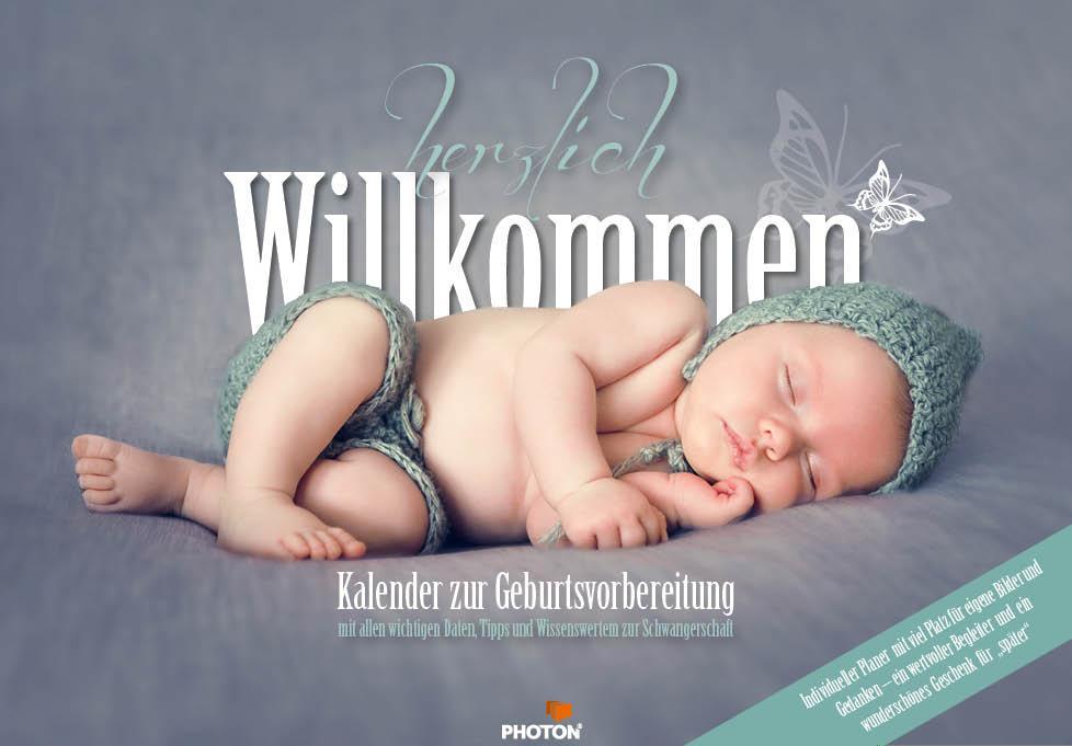 Herzlich Willkommen - Schwangerschaftskalender als Kalender