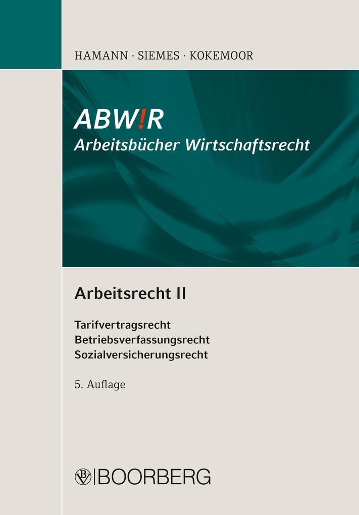 Arbeitsrecht II als eBook
