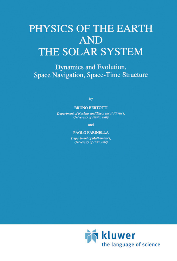 Physics of the Earth and the Solar System als Buch