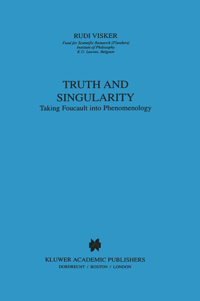 Truth and Singularity als Buch
