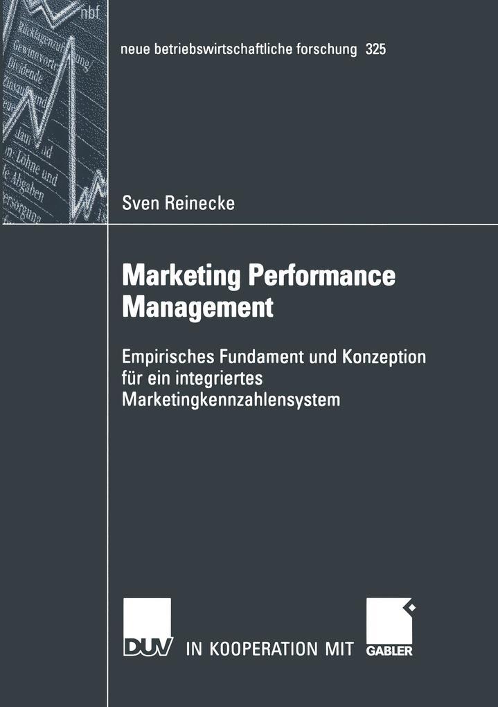 Marketing Performance Management als Buch