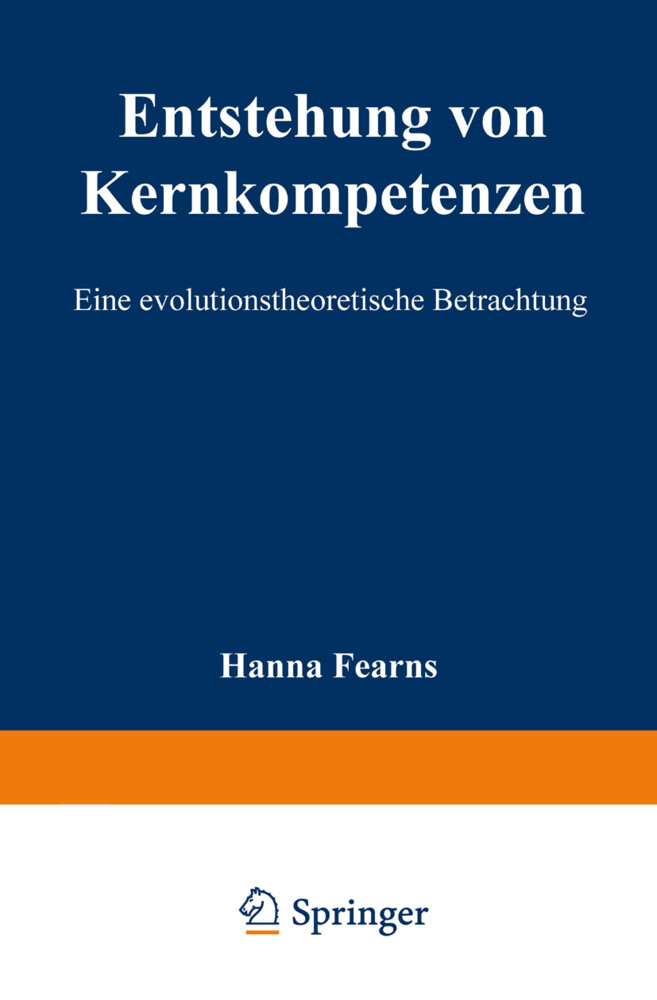 Entstehung von Kernkompetenzen als Buch