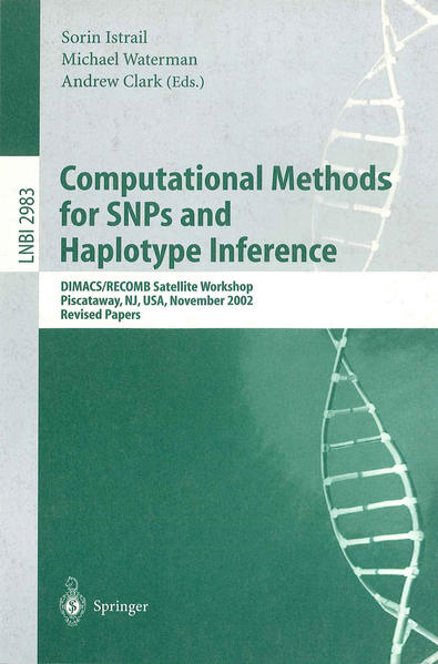 Computational Methods for SNPs and Haplotype Inference als Buch