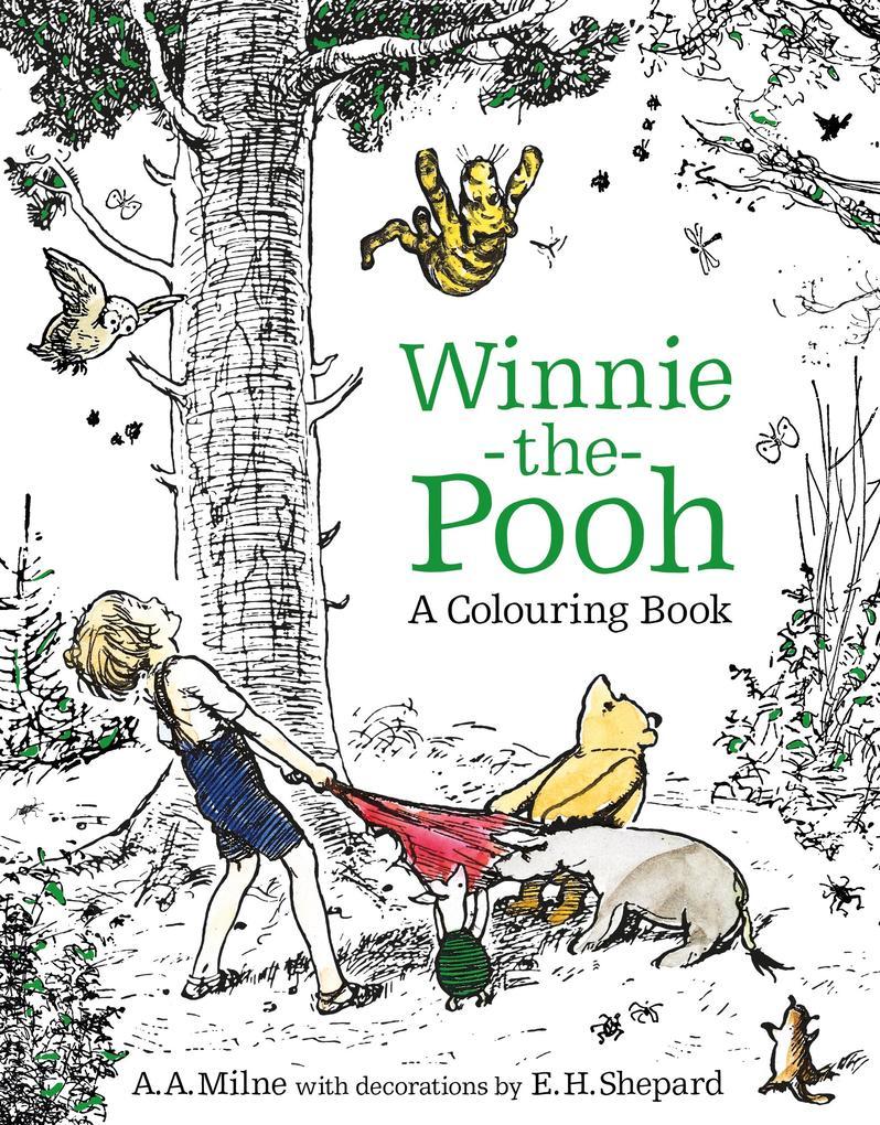 Winnie-the-Pooh: A Colouring Book als Taschenbuch von Egmont Publishing UK