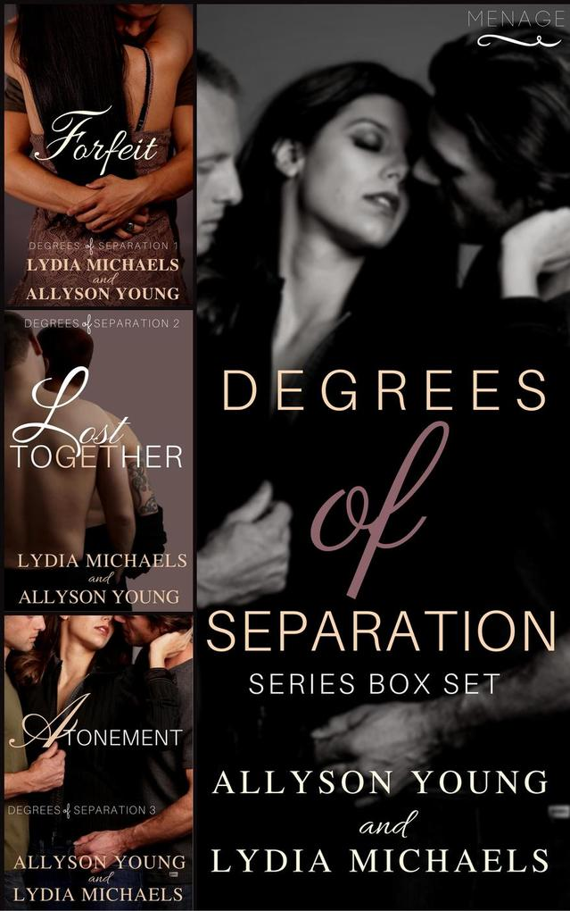 Degrees of Separation Trilogy Box Set als eBook