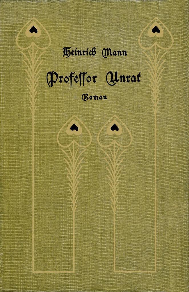 Professor Unrat als Buch