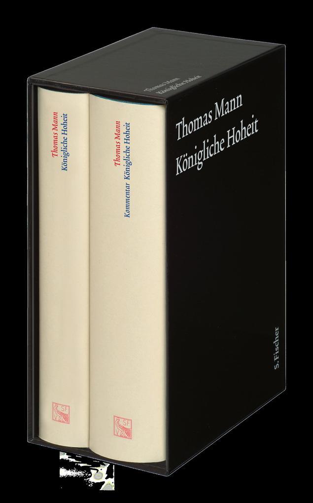 Königliche Hoheit. Große kommentierte Frankfurter Ausgabe. 2 Bände als Buch