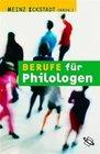 Berufe für Philologen