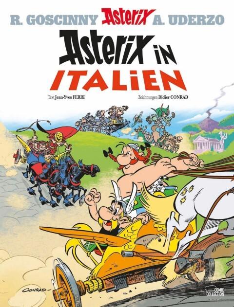 Asterix 37. Asterix in Italien als Buch