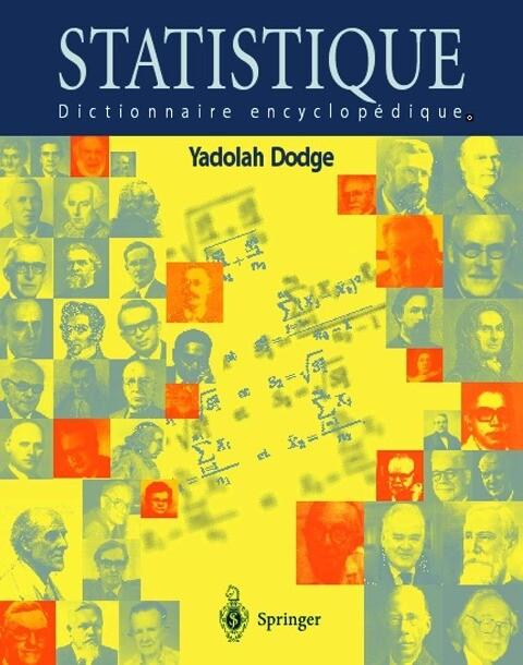 Statistique: Dictionnaire Encyclopa(c)Dique als Buch