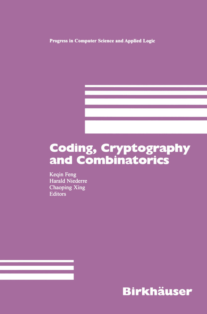 Coding, Cryptography and Combinatorics als Buch