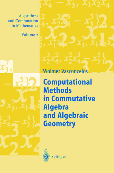 Computational Methods in Commutative Algebra and Algebraic Geometry als Buch