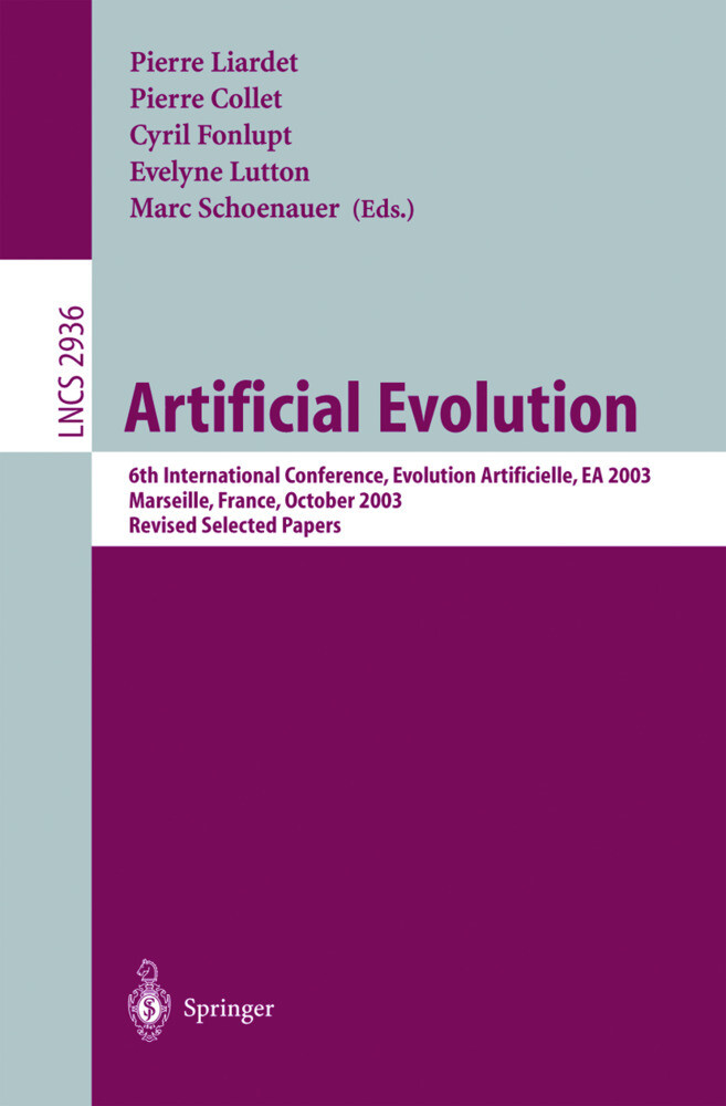 Artificial Evolution als Buch