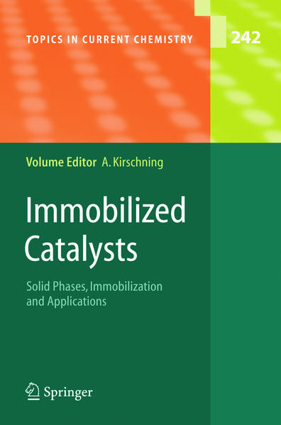 Immobilized Catalysts als Buch