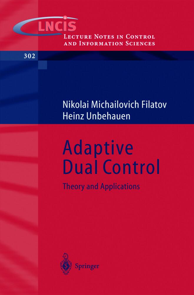 Adaptive Dual Control als Buch