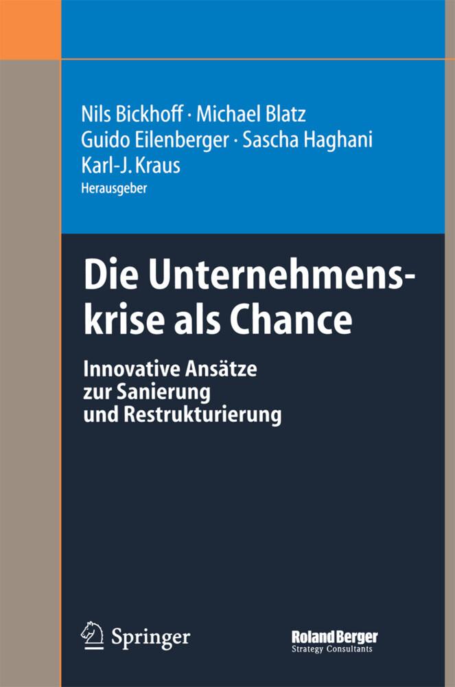 Die Unternehmenskrise als Chance als Buch