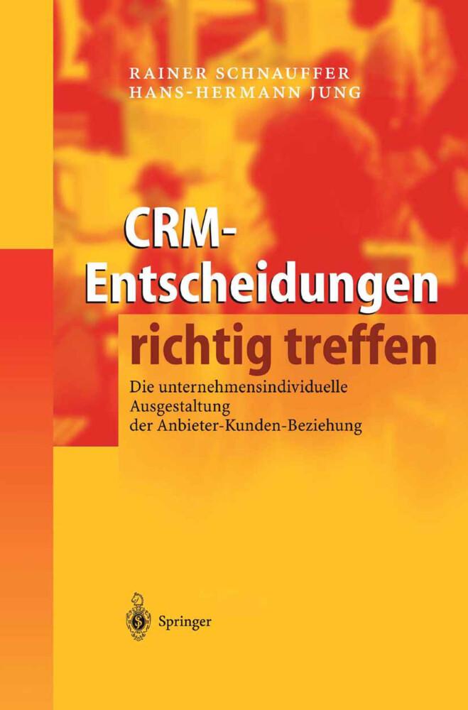 CRM-Entscheidungen richtig treffen als Buch