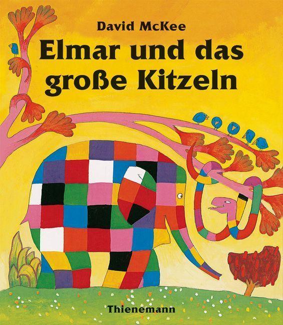 Elmar und das große Kitzeln als Buch