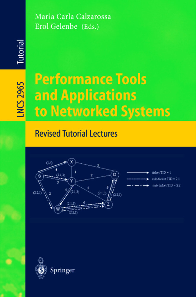 Performance Tools and Applications to Networked Systems als Buch