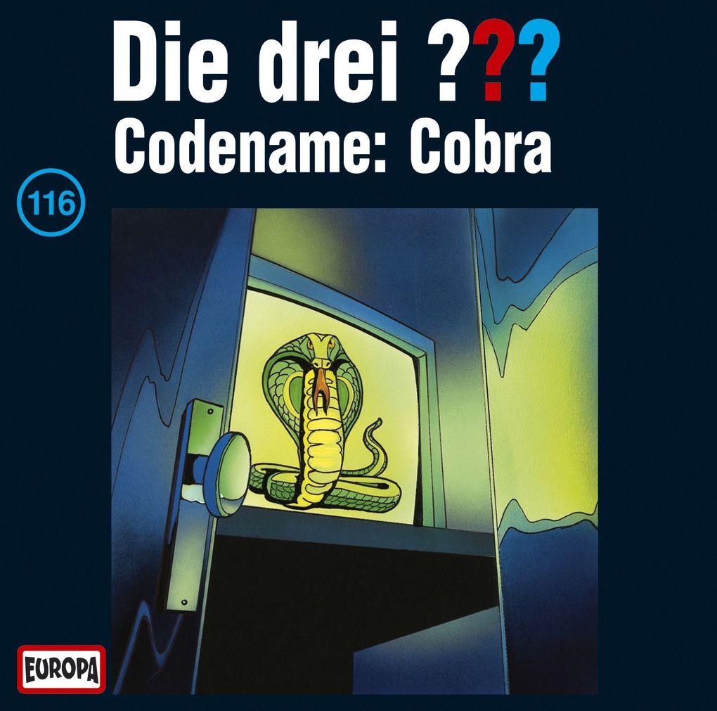 Die drei ??? 116. Codename: Cobra (drei Fragezeichen) CD als Hörbuch