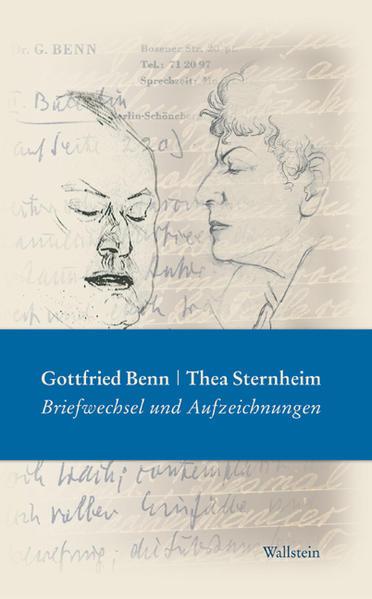 Gottfried Benn - Thea Sternheim als Buch von Gottfried Benn, Thea Sternheim