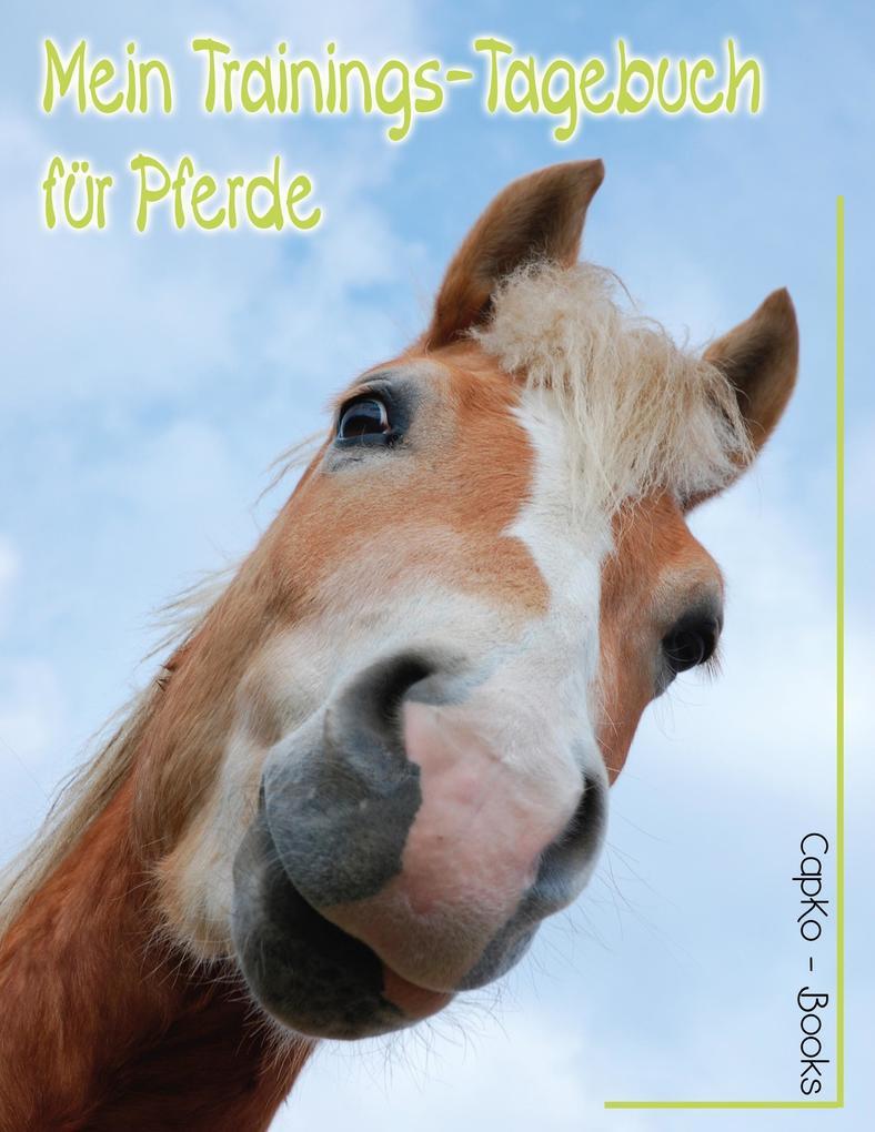 Mein Trainings-Tagebuch für Pferde als Buch (kartoniert)