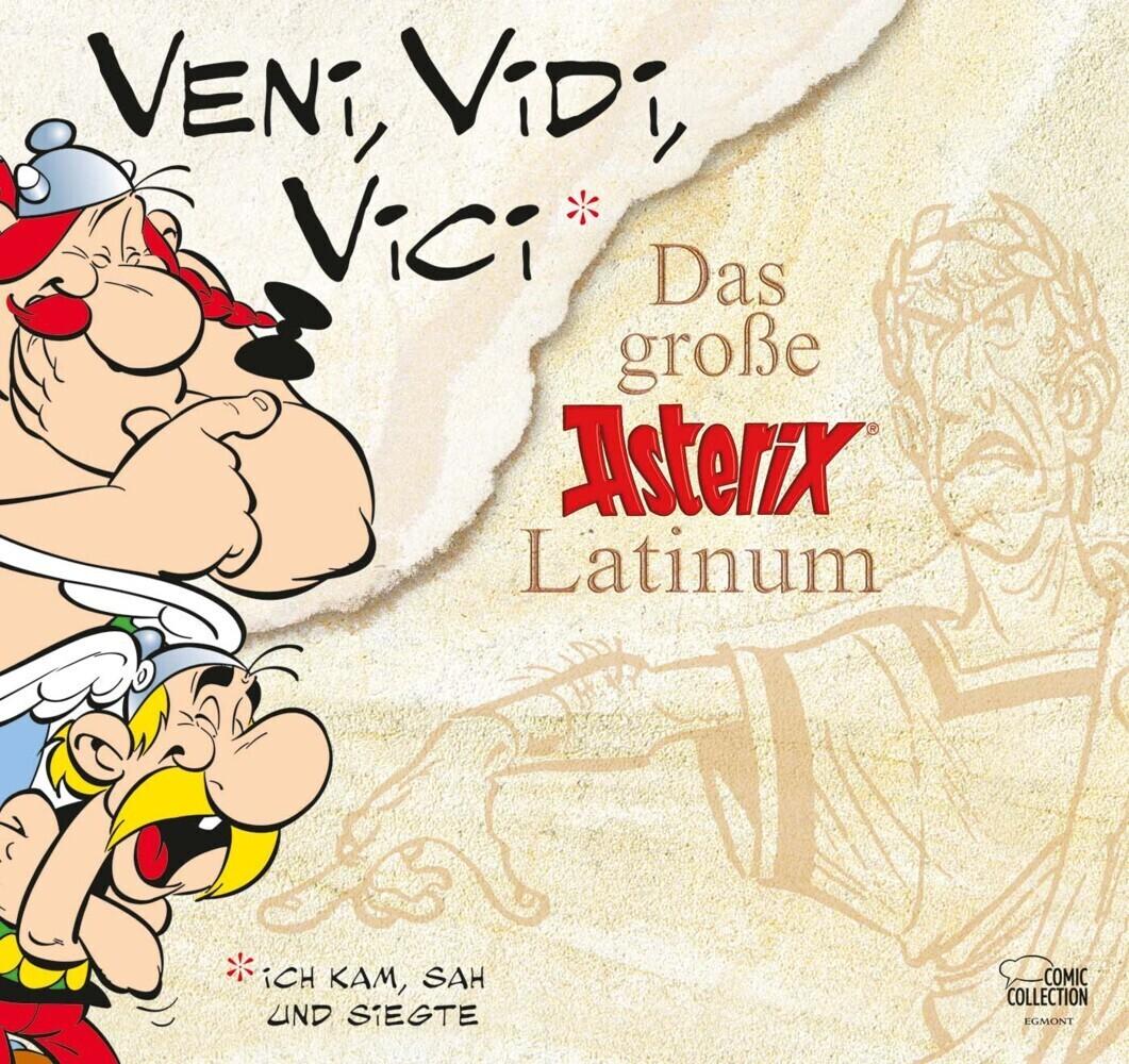 Asterix. Veni, Vidi, Vici als Buch