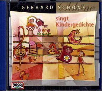 Gerhard Schöne singt Kindergedichte. CD als Hörbuch