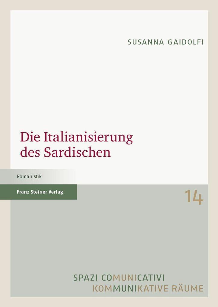 Die Italianisierung des Sardischen als eBook