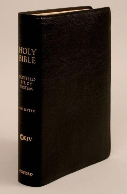 Scofield Study Bible III-NKJV als Buch (Ledereinband)