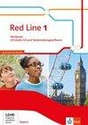 Red Line 1. Workbook mit Audio-CD und CD-ROM. Klasse 5. Ausgabe für Bayern ab 2017