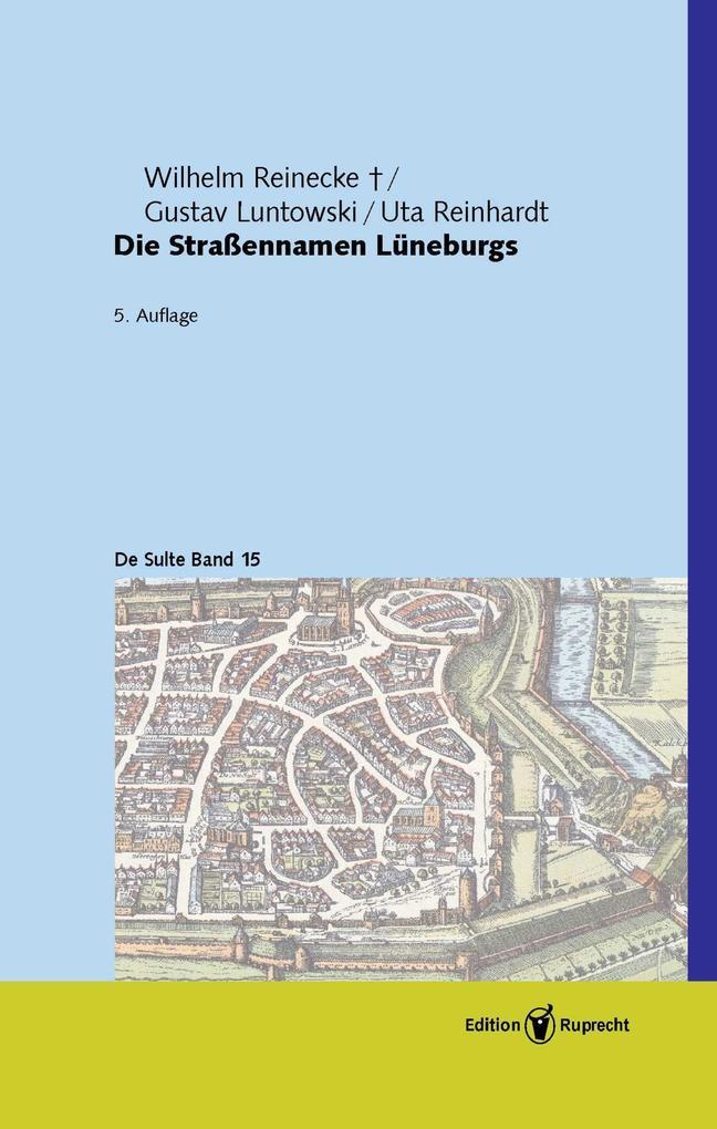 Die Straßennamen Lüneburgs als eBook