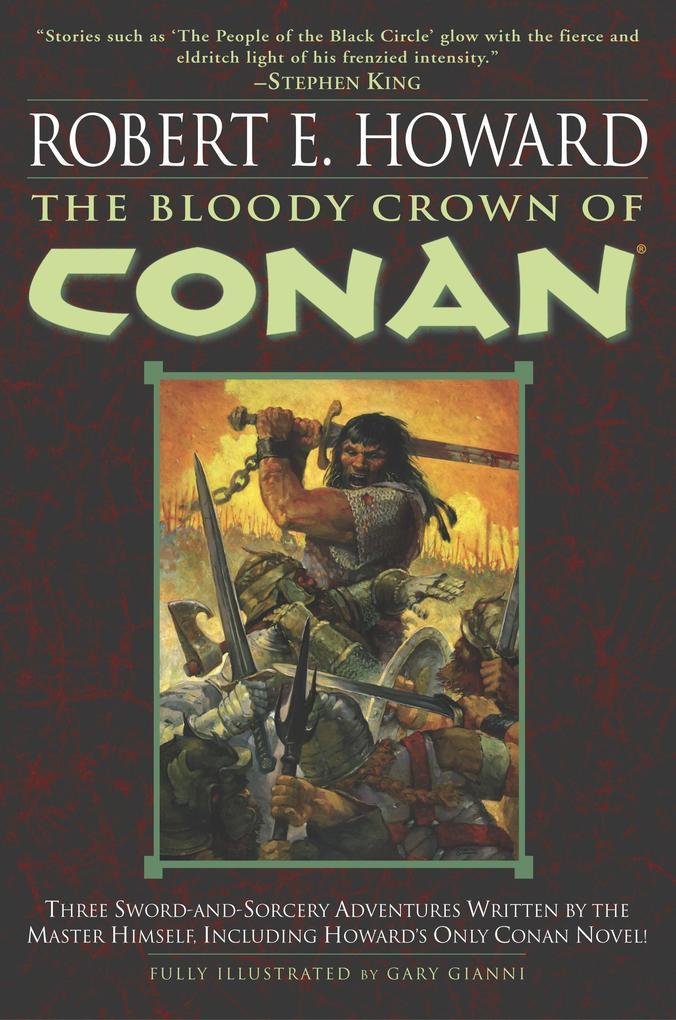 The Bloody Crown of Conan als Taschenbuch