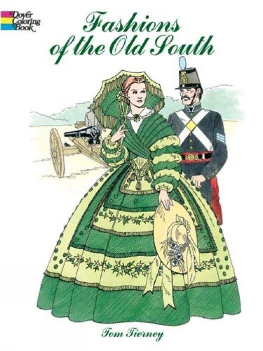 Fashions of the Old South Coloring Book als Taschenbuch