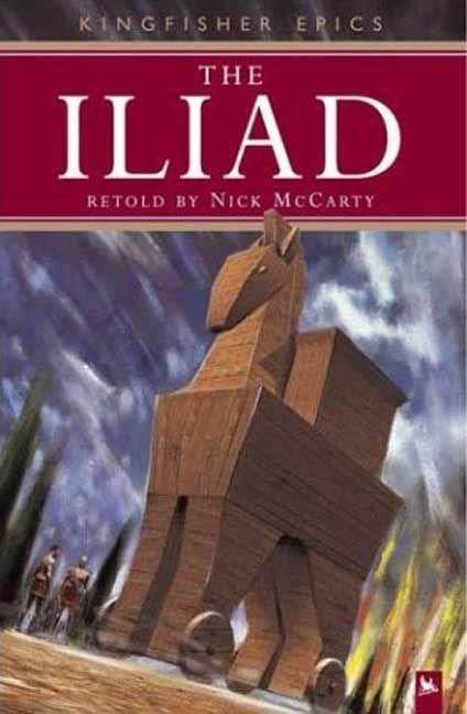 The Iliad als Taschenbuch