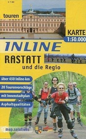 Inline Rastatt und die Regio 1 : 50 000 als Buch