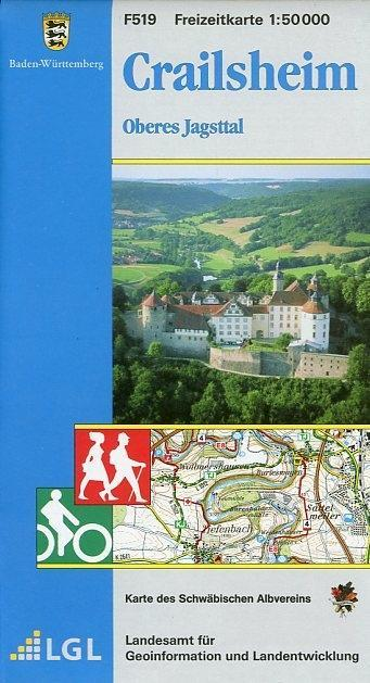 LGL BW 50 000 Crailsheim Freizeitkarte als Buch