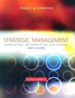 Strategic Management: Formulation, Implementation, and Control [With Subscription to Businessweek & Registration Code] als Buch