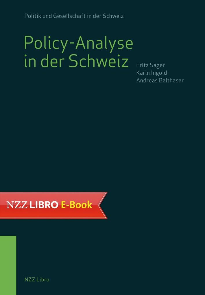 Policy-Analyse in der Schweiz als eBook