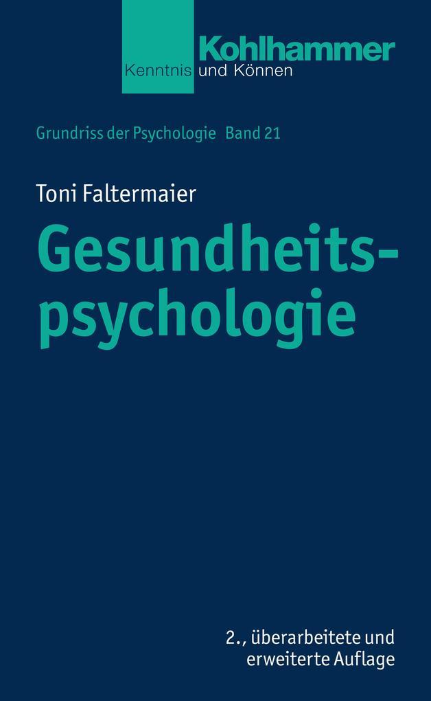 Gesundheitspsychologie als eBook