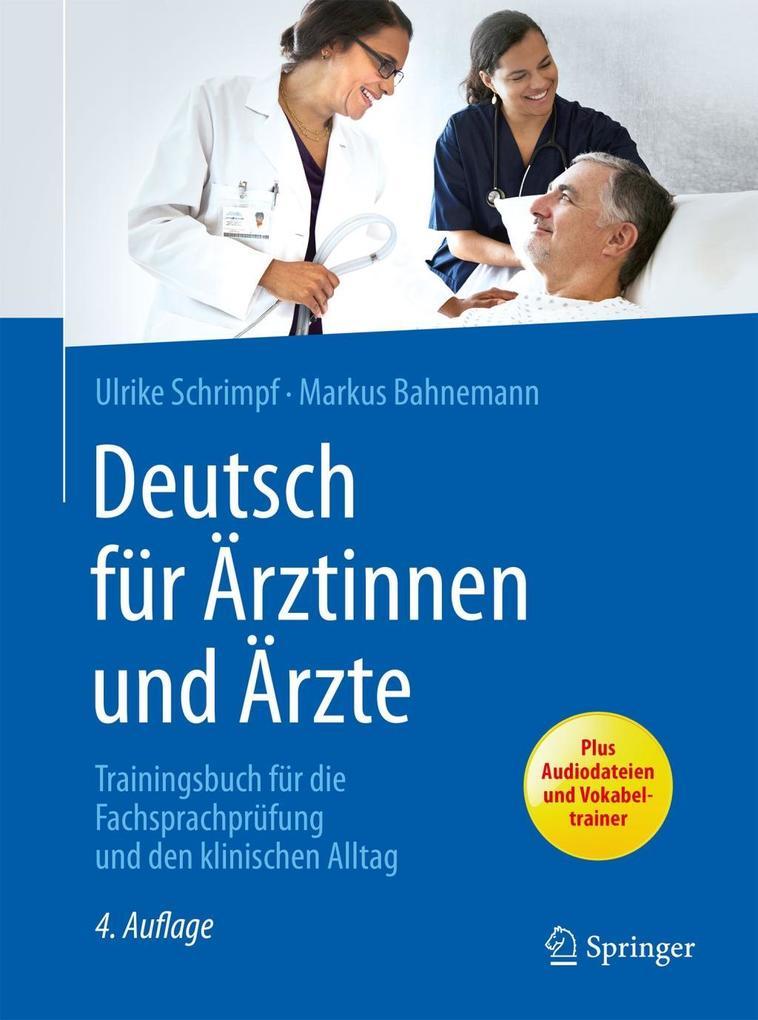 Deutsch für Ärztinnen und Ärzte als eBook