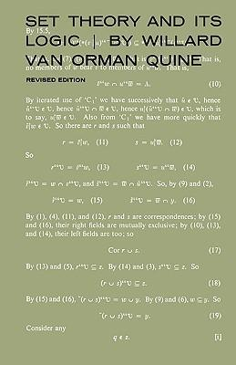 Set Theory and Its Logic, Revised Edition als Buch