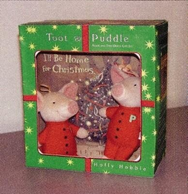 I'll Be Home for Christmas: Book and Two Dolls Gift Set [With Two Dolls] als Taschenbuch