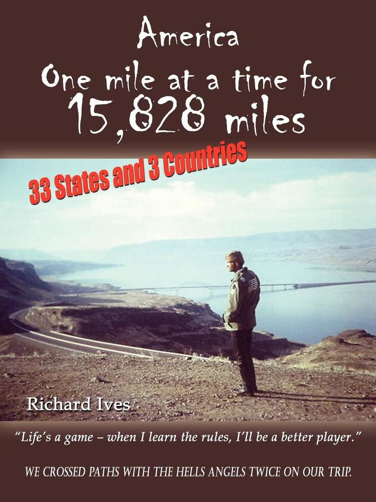 America: One Mile at a Time for 15,828 Miles als Taschenbuch